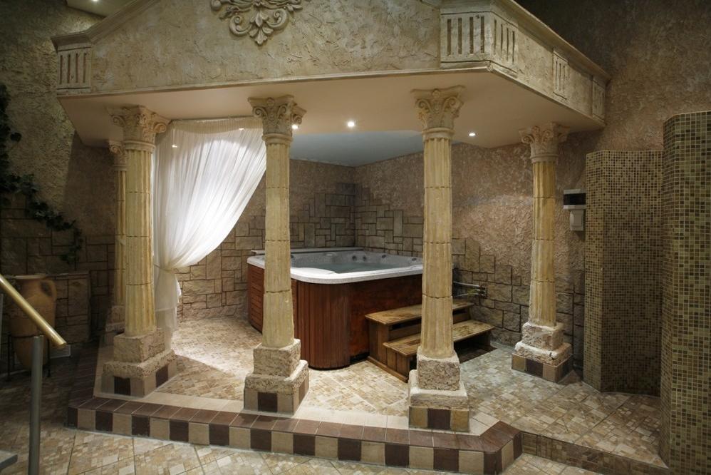 фото дизайна римских бань